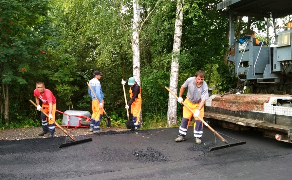 Дорожные объекты обновили в Краснопахорском. Фото предоставили сотрудники администрации поселения Краснопахорское