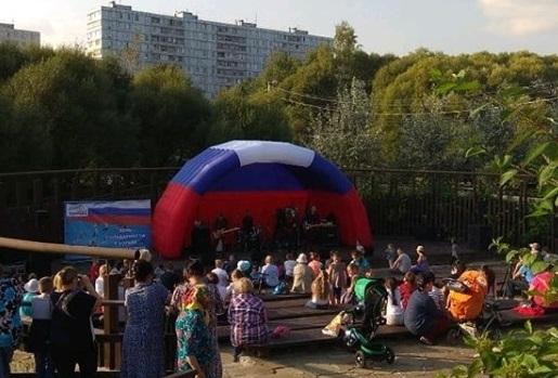 Молодежную акцию провели в поселении Марушкинское. Фото: официальная страница администрации поселения Марушкинское в социальных сетях